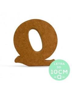 LETRA Q DM 10CM