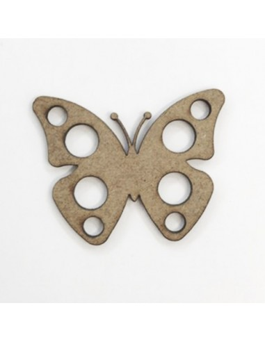 Mariposa circulo 4,9x4cm
