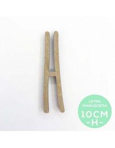 H-LETRA MANUSCRITA (10cm)