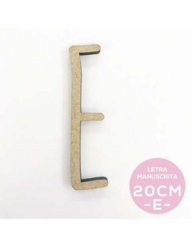 E-LETRA MANUSCRITA (20cm)