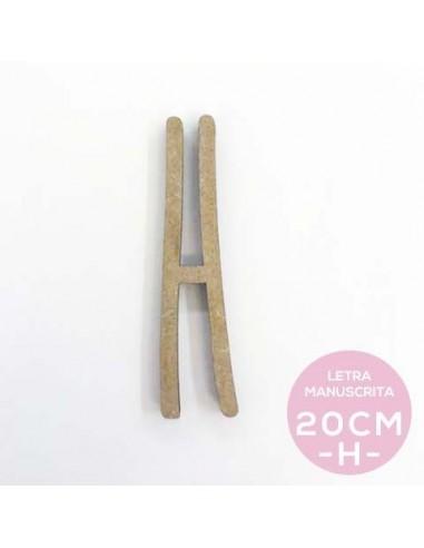 H-LETRA MANUSCRITA (20cm)