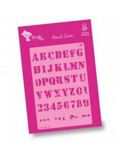 Amelie Stencil - 03106