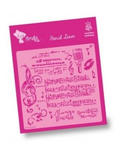 AMELIE STENCIL - 07029