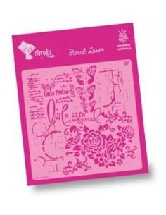 AMELIE STENCIL - 07031