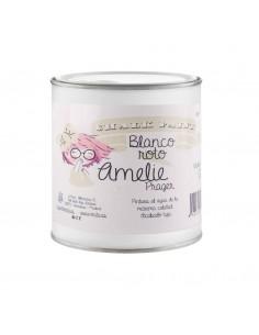 2,5 Litros Pintura Tiza Chalk Paint 02 Blanco Roto Amelie Prager
