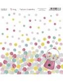 KIT DE PAPEL SCRAPBOOKING SWEET CANDY (SET 7 PAPELES)