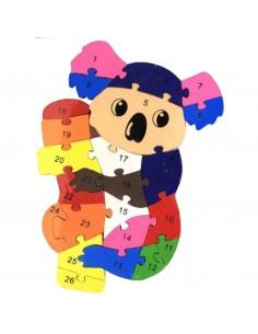 Puzzle koala 25x19cm