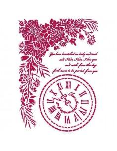 Stencil 21x29,7 cm - Romantic Journal mira