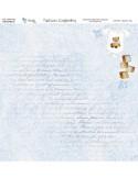 KIT DE PAPEL SCRAPBOOKING AGUGUTATA BOY (SET 7 PAPELES)