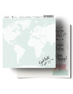 Mapa mundi Amelie Papel Scrapbooking 009