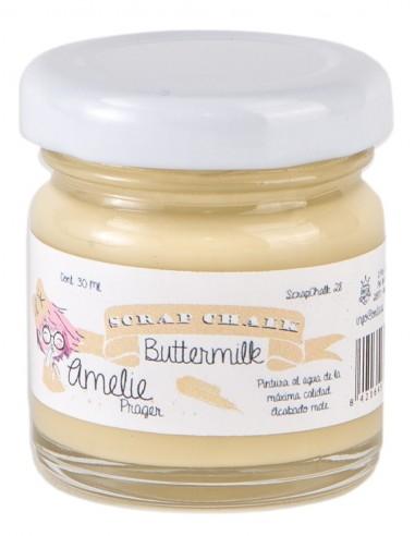 30ml Pintura Tiza Chalk Paint 28 Buttermilk Amelie Prager
