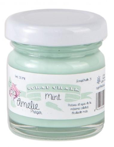 30ml Pintura Tiza Chalk Paint 31 Mint Amelie Prager