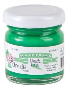30ml Pintura Tiza Chalk Paint 35 Verde Hoja Amelie Prager