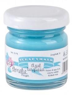 Amelie Scrap Chalk 39 Azul Turquesa 30 ml