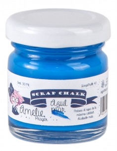 Amelie Scrap Chalk 40 Azul Mar 30 ml