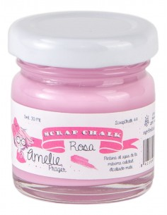30ml Pintura Tiza Chalk Paint 44 Rosa Amelie Prager