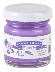 Amelie Scrap Chalk 47 Morado 30 ml