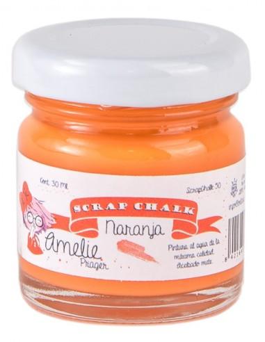 Amelie Scrap Chalk 50 Naranja 30 ml