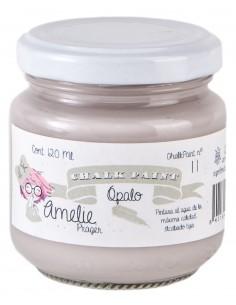 120ml Pintura Tiza Chalk Paint 11 Ópalo Amelie Prager
