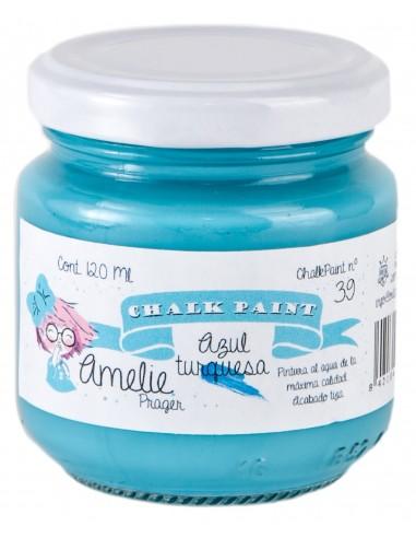 Amelie Chalk Paint 39 Azul turquesa 120ml