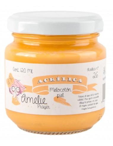 Amelie Acrílica 26 MELOCOTÓN PIEL 120ml