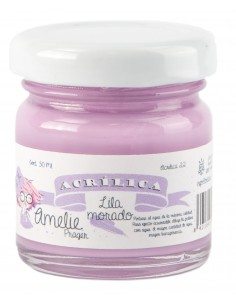 Amelie Acrílico 22 Lila Morado. 30 ml