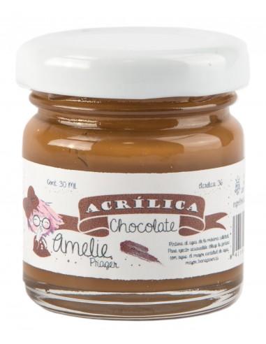 Amelie Acrílico 35 Chocolate con Leche. 30 ml