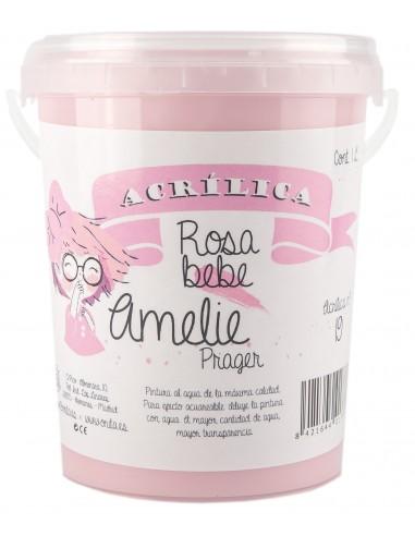 Amelie Acrílica 19 ROSA BEBE 1L