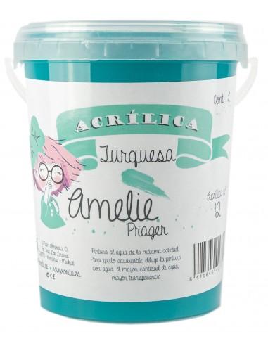 amelieAcrilica 12 TURQUESA 3L