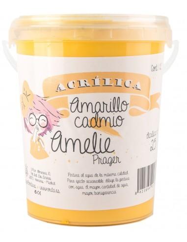 amelieAcrilica 25 AMARILLO CADMIO 3L