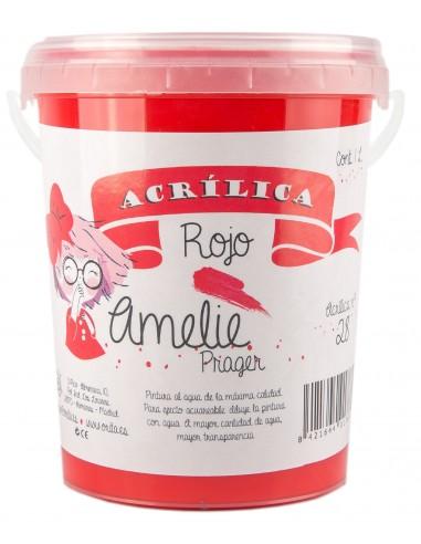 amelieAcrilica 28 ROJO 3L