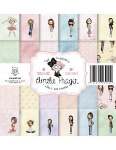 AMELIE AND FRIENDS (SET 12 PAPELES)