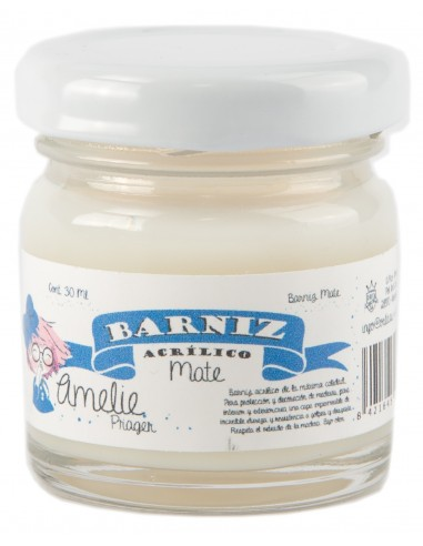 Amelie Barniz Acrilico - MATE 30 ml
