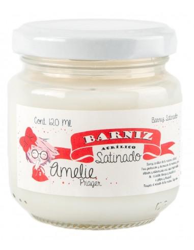 BARNIZ AL AGUA - SATINADO - 125 ml