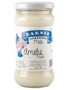 BARNIZ AL AGUA - MATE AMELIE- 280 ml