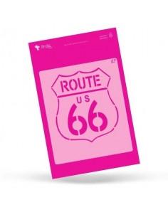 Ruta 66 Amelie Stencil - 01008